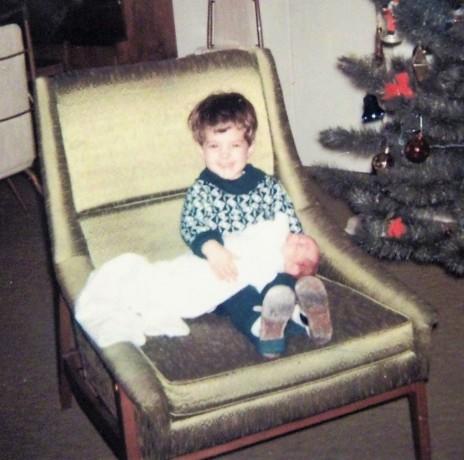 Dec 1966.. Patty & Debbie